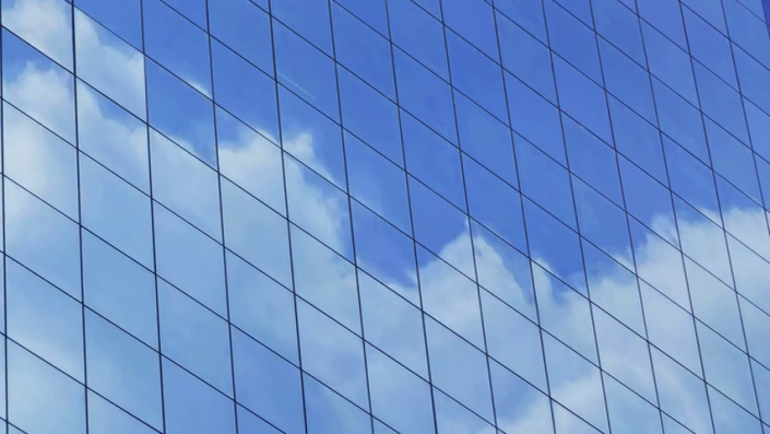 Cloud Reflection Time Lapse