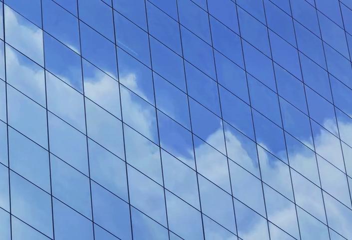 Cloud Reflection Time Lapse