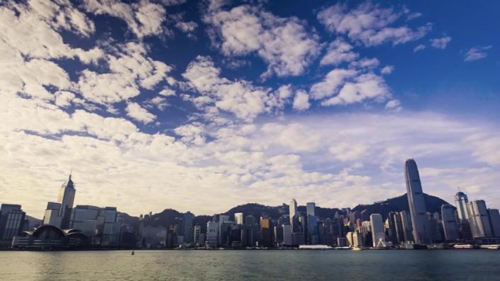 Hong Kong Island Time Lapse